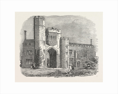 Montacute Priory 1853 by Anonymous