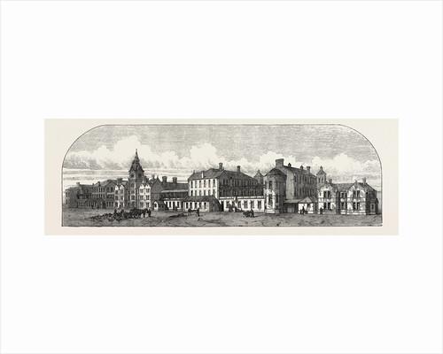 The Poplar and Stepney Sick Asylum, 1871 by Anonymous