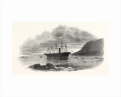 The Great Britain Steamship, Sketched on the Morning after She Went Ashore at Rathmullan, 1846 by Anonymous