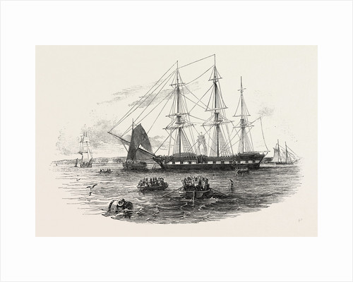 Embarkation of Troops at Gravesend, for Foreign Service, UK, 1846 by Anonymous