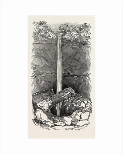 Allan Pot, Near Settle, Yorkshire, UK, 1847 by Anonymous
