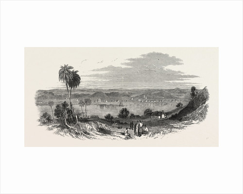 New Zealand: Wanganui, the Scene of the Late Conflict, 1847 by Anonymous