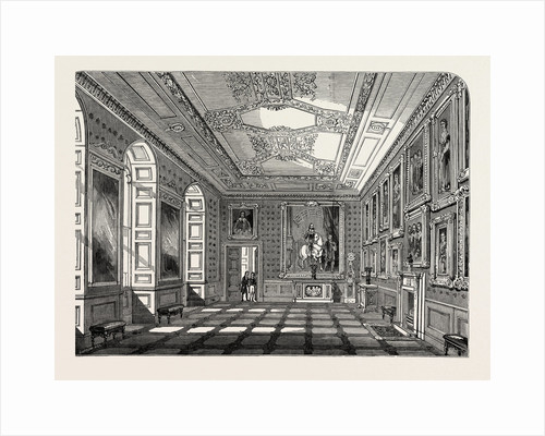 Return of the Court to Windsor Castle: State Apartments, the Vandyck Room, UK, 1847 by Anonymous