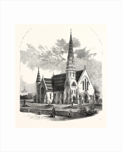 St. Paul's Church, West Smethwick, South Staffordshire, 1858 by Anonymous