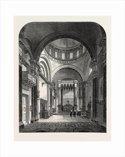 The Roman Catholic Chapel of St. John of Jerusalem, Great Ormond Street, London, 1865 by Anonymous