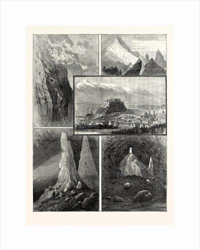 Salzburg and Its Mountain Scenery by Anonymous