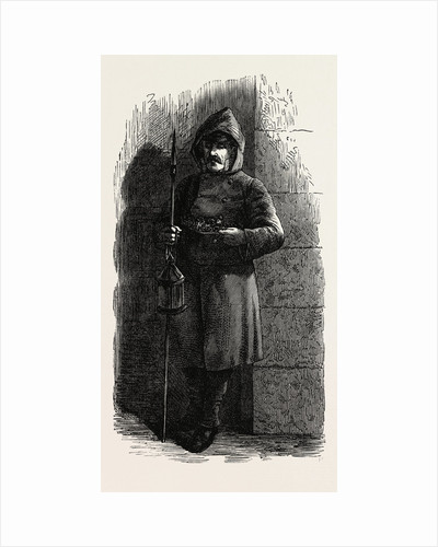 Madrid Night Watchman, 1873 by Anonymous