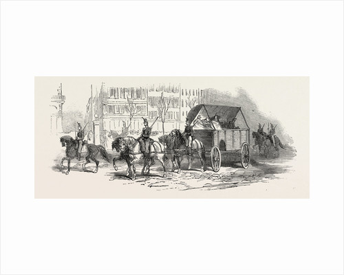 The Revolution in France: Waggon for the Wounded, 1851 by Anonymous