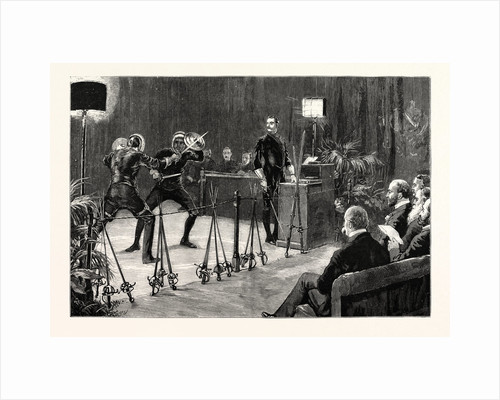 The Story of Swordsmanship by Captain Egerton Castle at the Lyceum Theatre by Anonymous