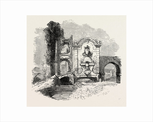 Ruined Fountain on the Campagna by Anonymous