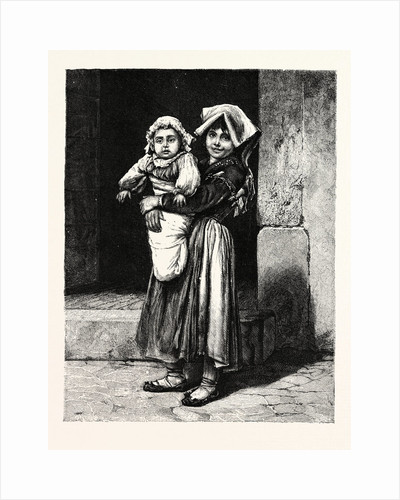 Peasant Children of the Campagna by Anonymous