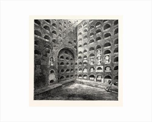 A Roman Columbarium Rome Italy by Anonymous