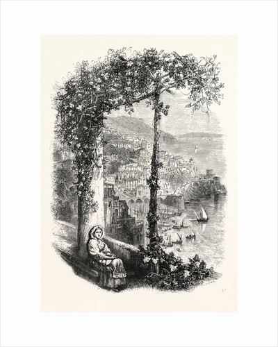 Amalfi from the Terrace of the Suppressed Convent by Anonymous