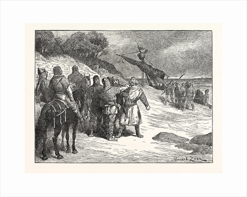 Harold Taken Prisoner by the Count of Ponthieu by Anonymous