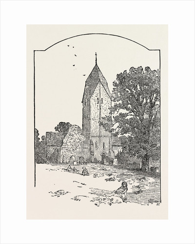 Tower of Sompting Church by Anonymous