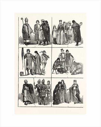 Norman Costumes of the Eleventh and Twelfth Centuries by Anonymous