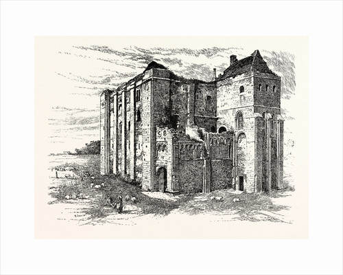 Castle Rising Norfolk by Anonymous