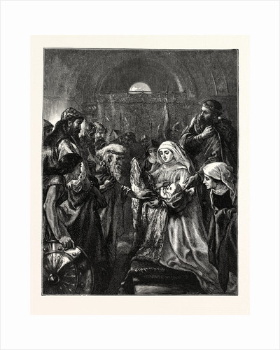 Edward Presenting His Infant Son to the Welsh by Anonymous