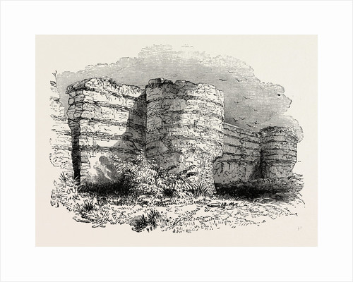 Roman Masonry Remains of Fortress Walls in Britain. by Anonymous