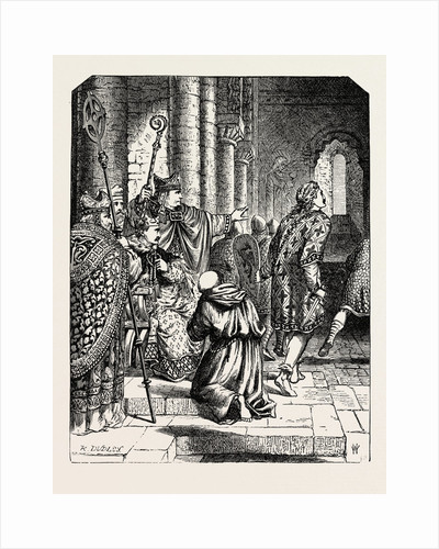 The Alarm at William's Coronation by Anonymous
