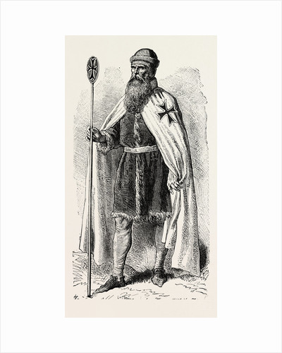 Grand Master of the Templars by Anonymous