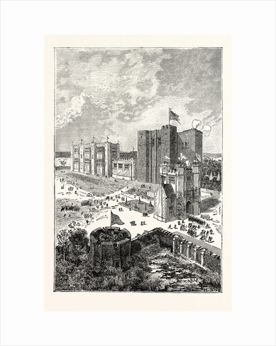 Kenilworth Castle in the Sixteenth Century. by Anonymous