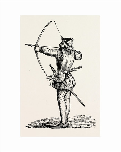 English Archer with Long-Bow. by Anonymous