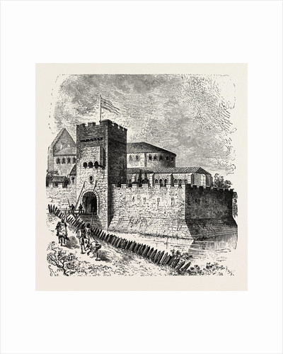 A Residence of the Knights Templars. by Anonymous