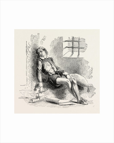 The Royal Poet in His Prison. by Anonymous