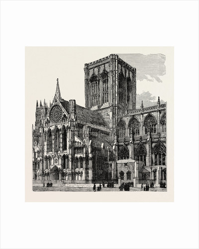 Exterior of York Cathedral. by Anonymous