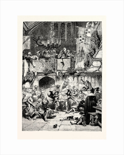 Tudor Times: Christmas Revels in the Baronial Hall. by Anonymous