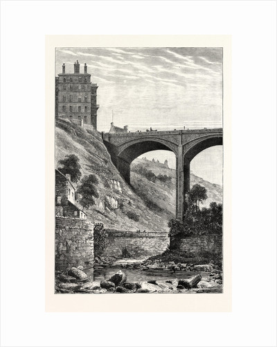 Edinburgh: Randolph Cliff and Dean Bridge by Anonymous