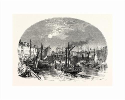 Edinburgh: Leith Harbour 1829 by Anonymous