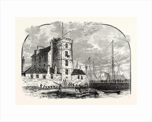 Edinburgh: Signal Tower Leith Harbour 1829 by Anonymous