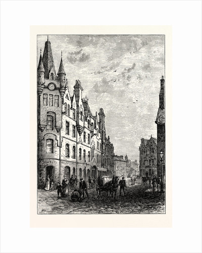Edinburgh: Bernard Street Leith by Anonymous