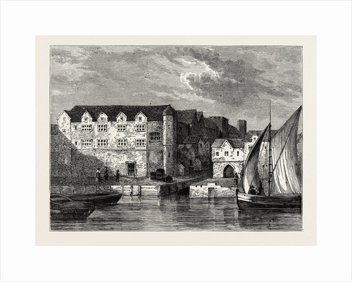 Bridewell in 1666 London by Anonymous