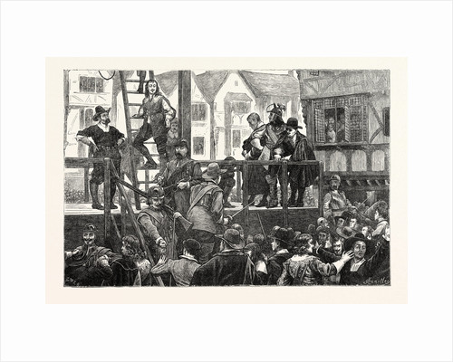Execution of Tomkins and Challoner London by Anonymous