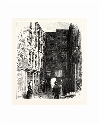 Wine Office Court and the Cheshire Cheese London by Anonymous
