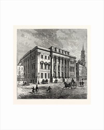 Exterior of Goldsmiths' Hall London by Anonymous