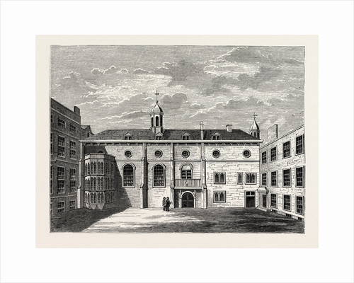 Exterior of Grocers' Hall 1876 London by Anonymous