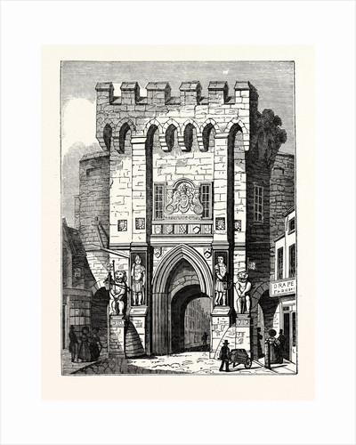 The Bar-Gate at Southampton: North Front of Southampton Gate by Anonymous