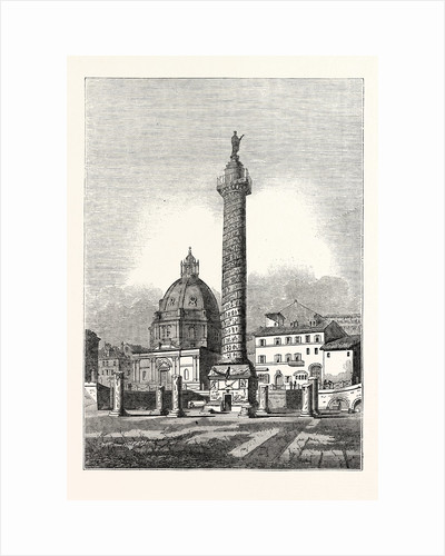 Trajan's Column at Rome by Anonymous