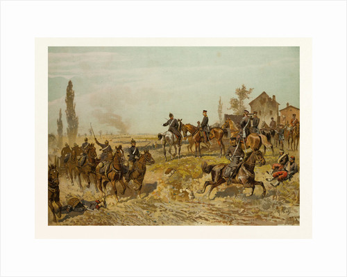 Moltke Awaits the Second Corps on the 18th of August 1871 Near Gravelotte by Anonymous