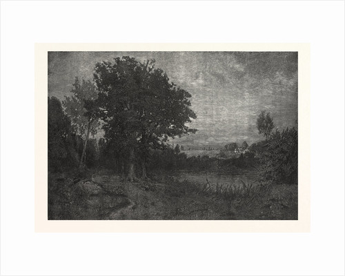 New England Landscape. By H. Wyant, Engraving by Anonymous