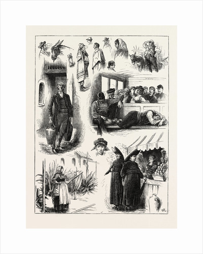 Spanish Affairs: Character Sketches on the Railway from Madrid to Seville, Spain by Anonymous