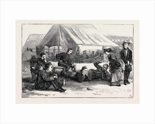 The Autumn Manoeuvres: Great Expectations; in Blandford Camp by Anonymous