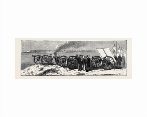 Artillery Experiments Before M. Thiers by Anonymous