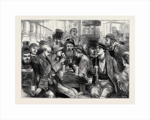 Absinthe Drinkers: A Sketch in Paris by Anonymous