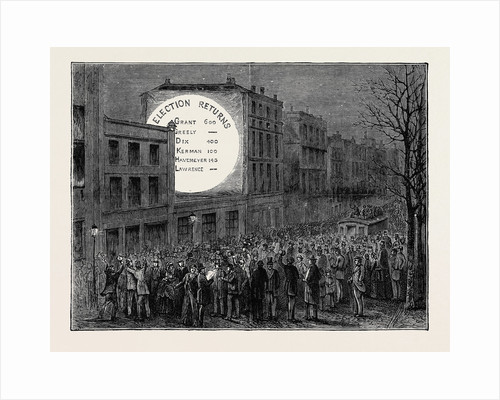 Sketches in New York During the Presidential Election: The Electoral Magic Lantern by Anonymous
