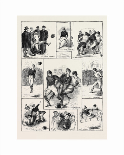Sketches at the International Football Match, Glasgow by Anonymous